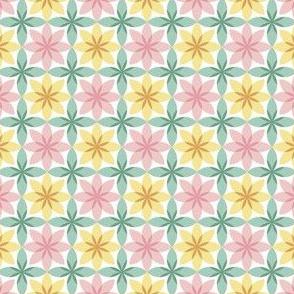 circle 8 flower + bud