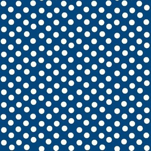 Pretty Polka Dots in Navy