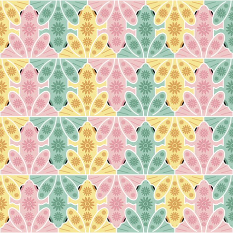 frogs spring fabric by sef on Spoonflower - custom fabric