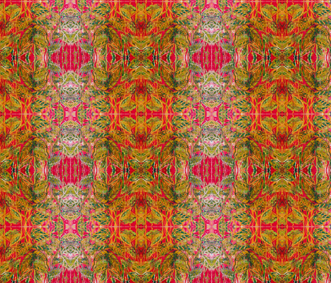 Foilaged fabric by artbykellyhand on Spoonflower - custom fabric