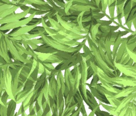 Tropical Leaf Bright Green