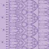 Gothic Dream Border Print