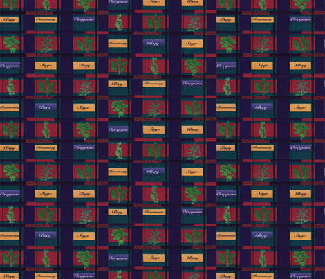 Herb Garden Tartan Plaid fabric by anomkat on Spoonflower - custom fabric