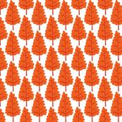 Scandi tree - orange