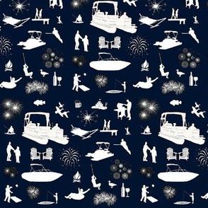 Lake Fun Fabric