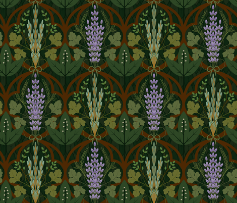 Herb Garden fabric by pepper-tea on Spoonflower - custom fabric