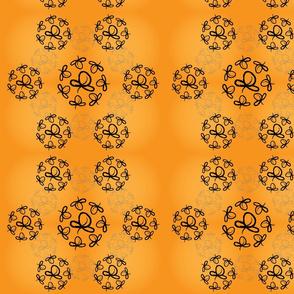 tangerine swirls