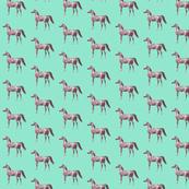 Arabian Horse on Mint