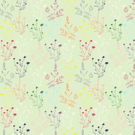Tea for two fabric by axelle_design on Spoonflower - custom fabric
