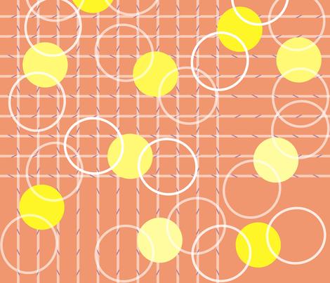 jeu, set et match fabric by axelle_design on Spoonflower - custom fabric