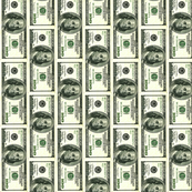 Hundred Dollar Bill vertical