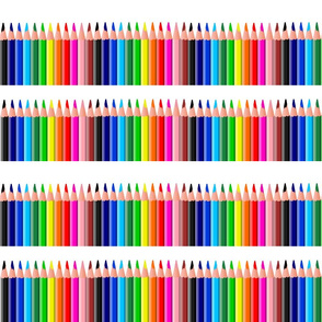COLORED PENCIL STRIPES