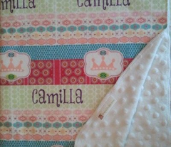 Morocco Quilt - Princess-Personalized  Camilla
