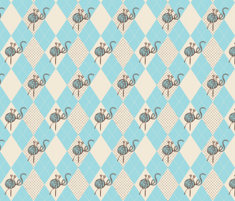 Skeindalous  fabric by milori on Spoonflower - custom fabric