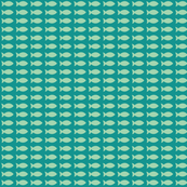 Little Fish (Seafoam on Teal)