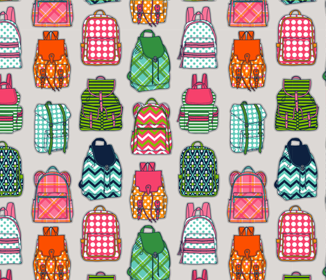 Back-pack_to_School fabric by anderson_lee on Spoonflower - custom fabric