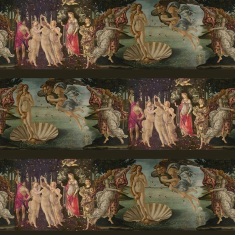 Rrrbotticelli_birth_of_venus_and_primavera_with_stripes___small___peacoquette_designs___copyright_2014_shop_preview