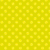 Tennis Ball Polka Dots Small