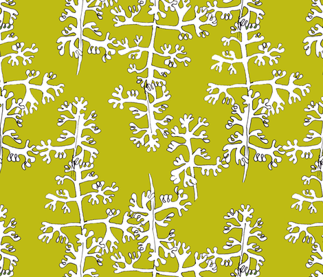 Sprigs of Parsley fabric by weejock on Spoonflower - custom fabric