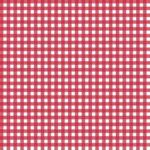 Mini Picnic Red/White