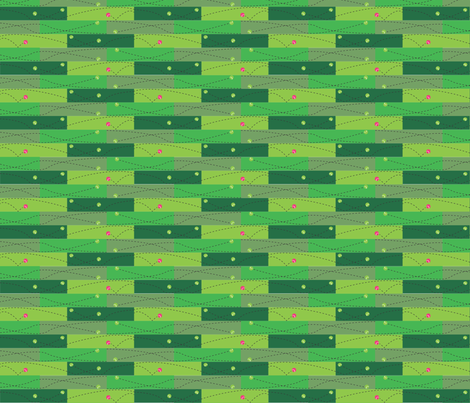 Tennis_Practice forest sage fabric by colour_angel on Spoonflower - custom fabric