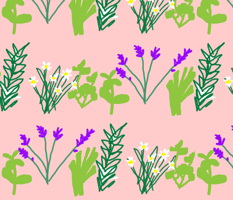 Herbies fabric by dollop on Spoonflower - custom fabric