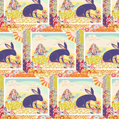 Spring Hare Swatch