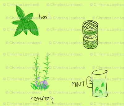 herb garden green