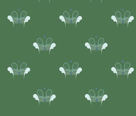 Tennis fabric by svaeth on Spoonflower - custom fabric