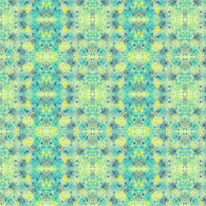 Herbal Batik (yellow-blue)