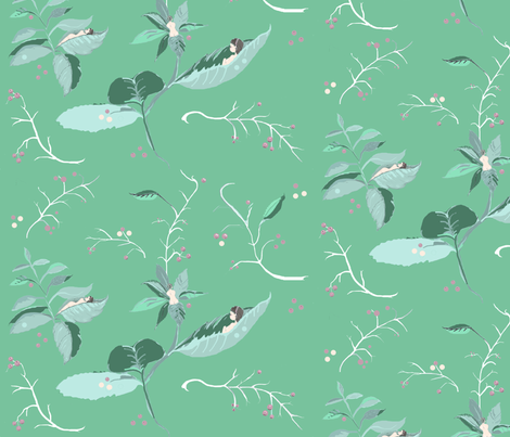 herb_garden fabric by fauxsher on Spoonflower - custom fabric