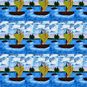 Enchanted Isle Sailboat Pattern