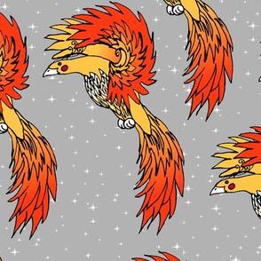 Silver Phoenix Sky
