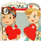 ambulance_nurse_doctor_vintage
