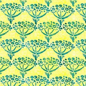 Dill batik (yellow)