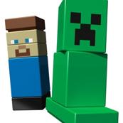 Lego Steve & Creeper