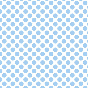 Spanish Dots - Blue and White