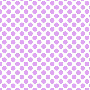 Spanish Dots - Purple and White