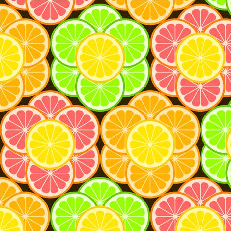 citrus slice flowers 3+1