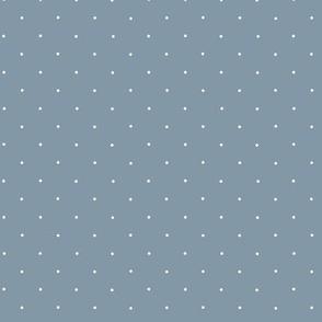 pindot slate blue