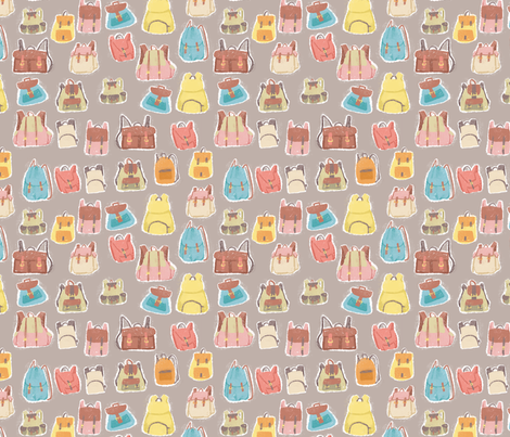 Zainetto - colorway 04 fabric by aliceelettrica on Spoonflower - custom fabric