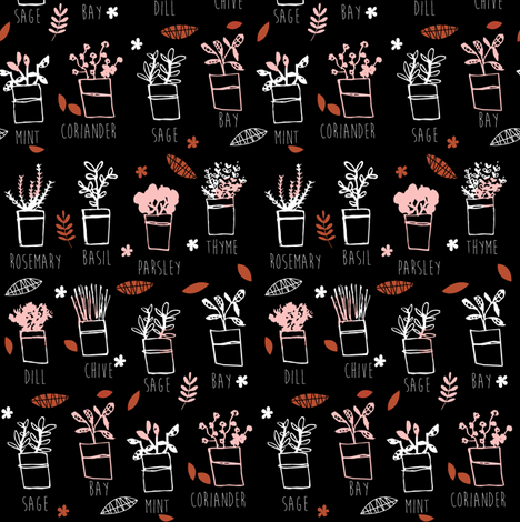 Uncle herb fabric by laura_the_drawer on Spoonflower - custom fabric