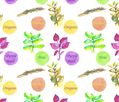 Freshness pattern fabric by anat_om on Spoonflower - custom fabric