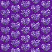 Heart shaped Lavender bags