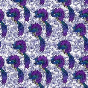 Peacock Paradise Linen