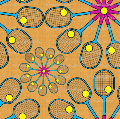 Tennis Flowers