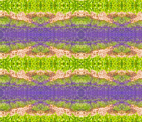 lavender_fields-ed fabric by frau-h on Spoonflower - custom fabric