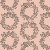 Wreath in Blush
