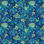 Herbal Batik (blue)