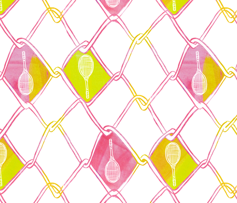 On the Fence fabric by emilysanford on Spoonflower - custom fabric
